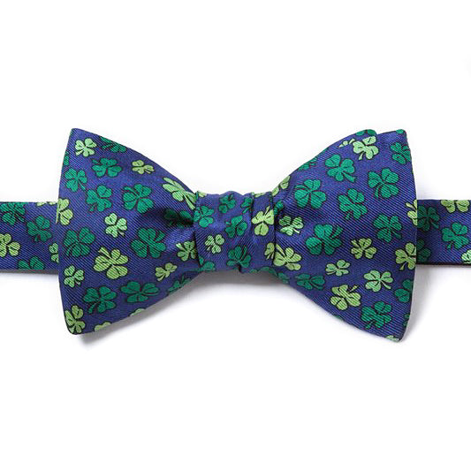 Shamrock'd Self-Tie Bow Tie