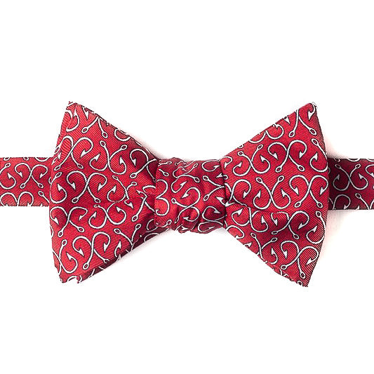 Off the Hook in Red Bow Tie