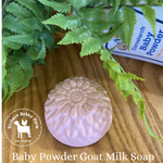 Baby Powder Handcrafted Goat Milk Soap - eichershobbyfarm - Goat Milk Products - Avon, Minnesota