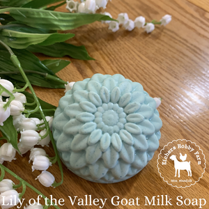 Lily of the Valley Handcrafted Goat Milk Soap - eichershobbyfarm - Goat Milk Products - Avon, Minnesota