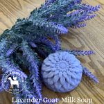 Lavender Handcrafted Goat Milk Soap - eichershobbyfarm - Goat Milk Products - Avon, Minnesota