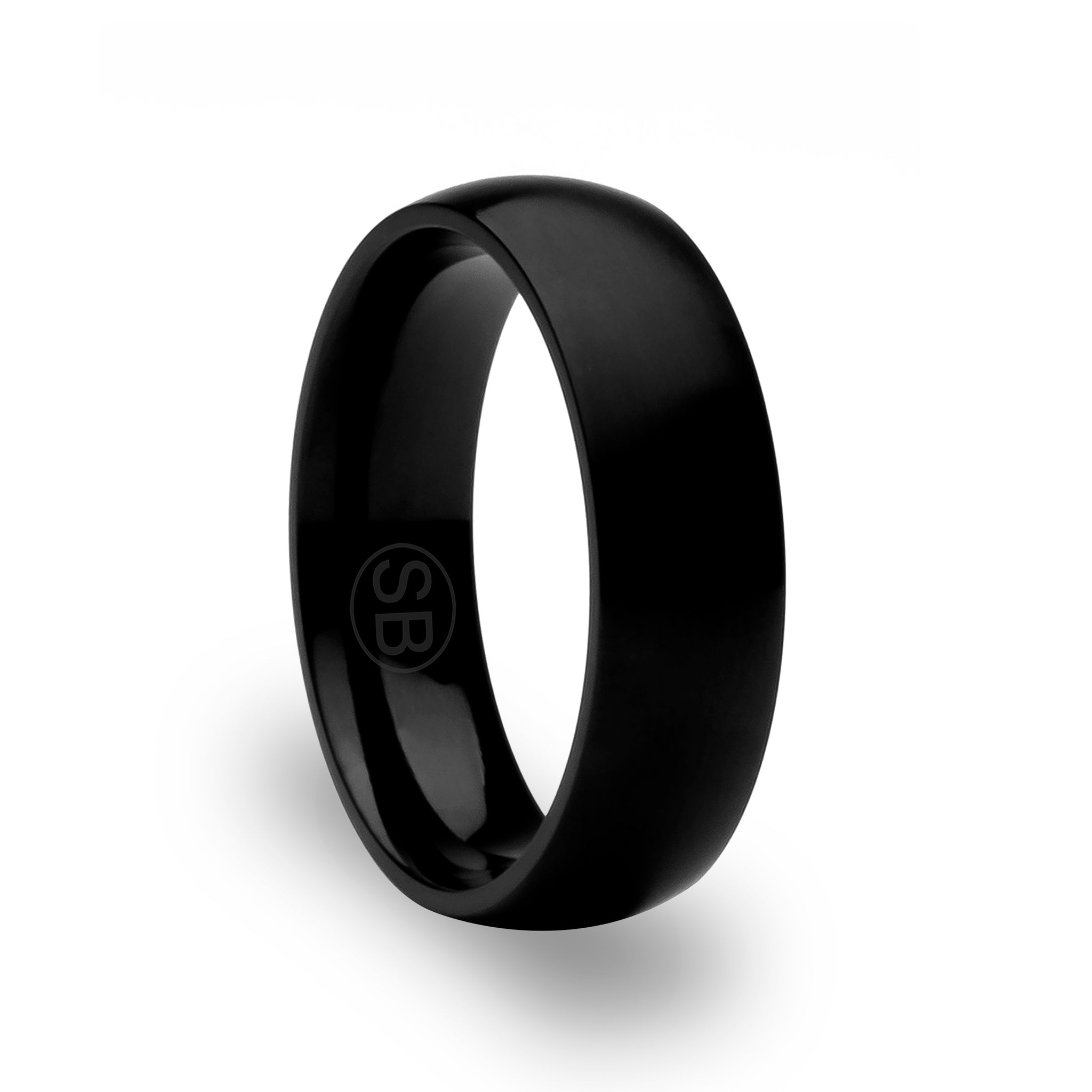 Black / Matte Titanium Rings