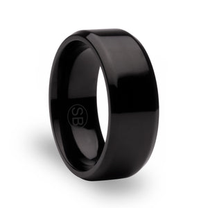 Black Beveled - 8MM