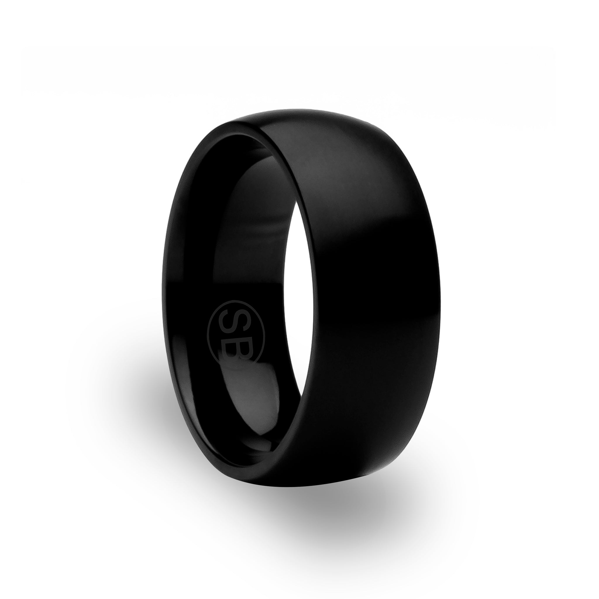Copy of Black / Matte Titanium Rings New