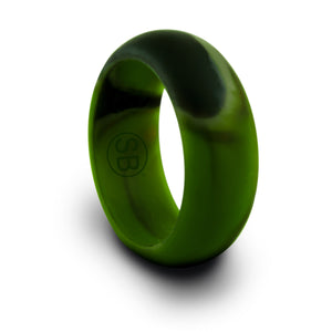 Camo Silicone Domed - 8MM