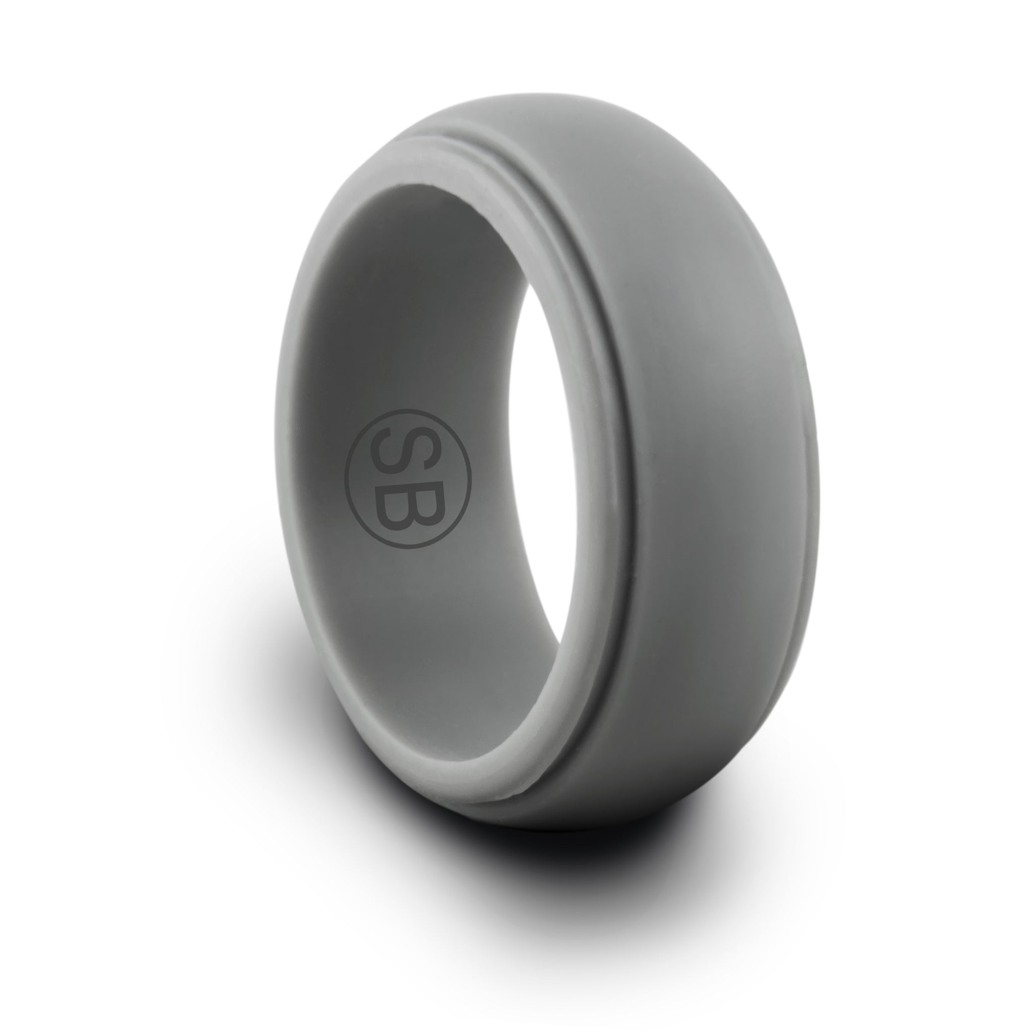 Light / Dark Gray Silicone Rings