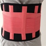 Waist Trimmer for Men and Women [VERY SOFT PLUSH MESH & COMFORTABLE]