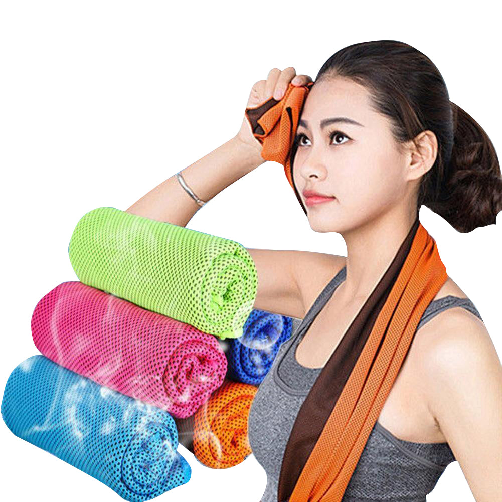 Cooling Towel For Yoga [WORKS INSTANTLY]