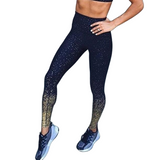 Midnight Blue Ombre High Waisted Midi Legging [TRENDY]