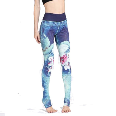 Floral Leggings Vibrant in Color and Soft [VERY Comfortable]