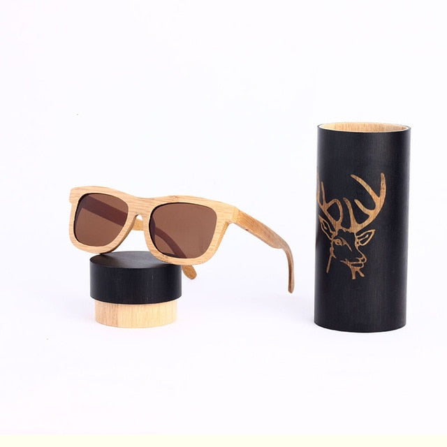 Wooden Sunglasses with Polarized  Lenses [PROTECTED FROM THE SUN]