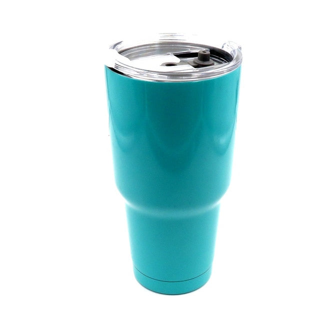 Stainless Steel Mug 30 oz [Stays Hot or Cold for 24 HOURS!]