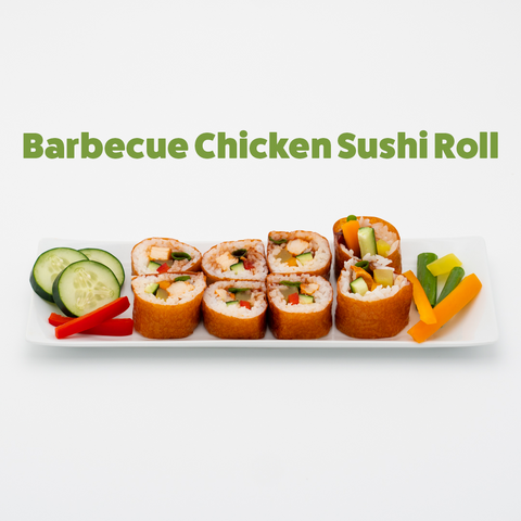 BARBECUE CHICKEN SUSHI ROLL