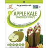 Sandwich Wraps - Apple Kale - Value Pack- 24ct