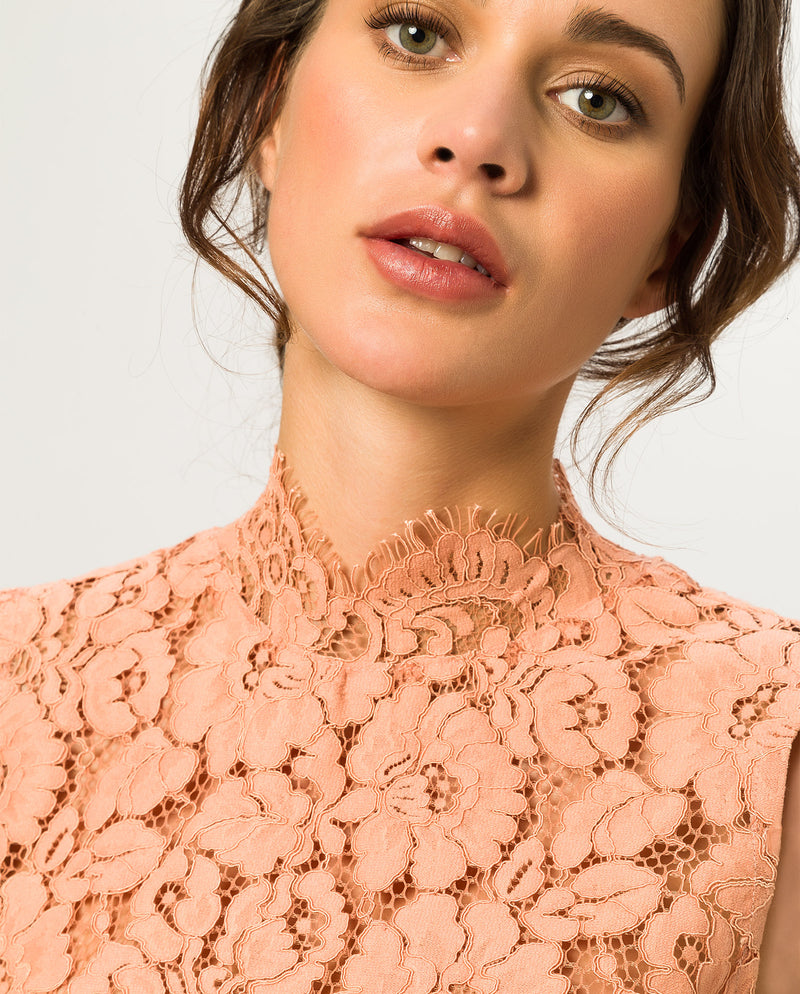 Lace Top Vintage Rose