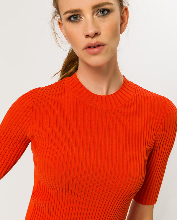 Half Arm Roll Neck