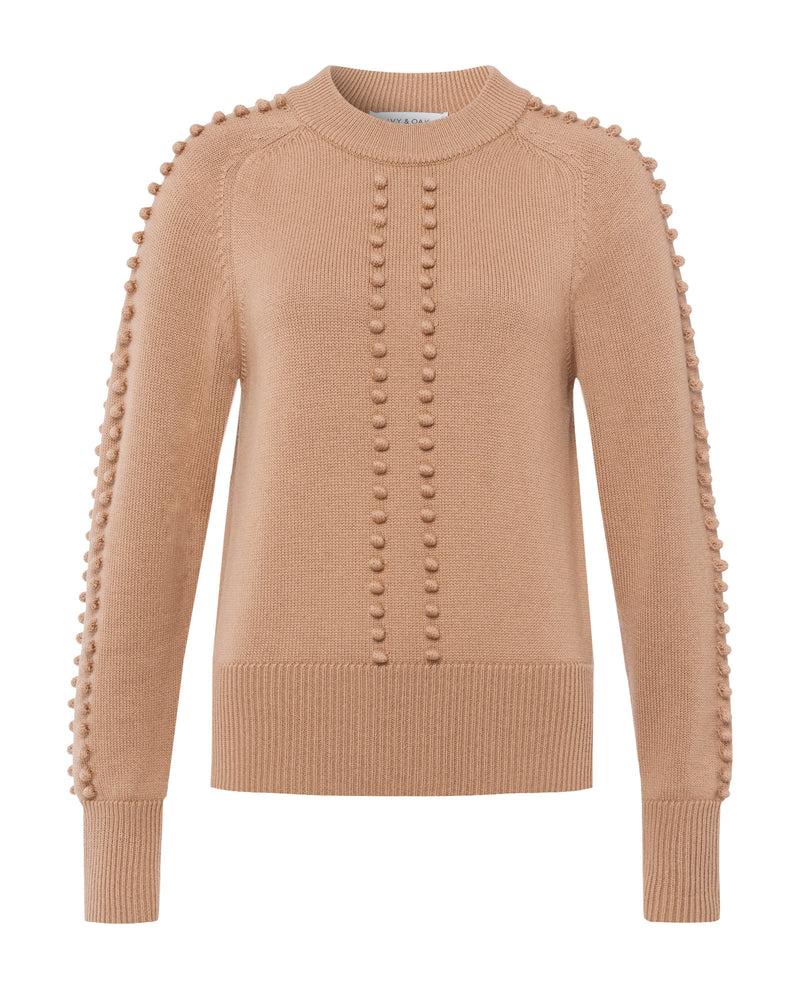 Embossed Knit Jumper