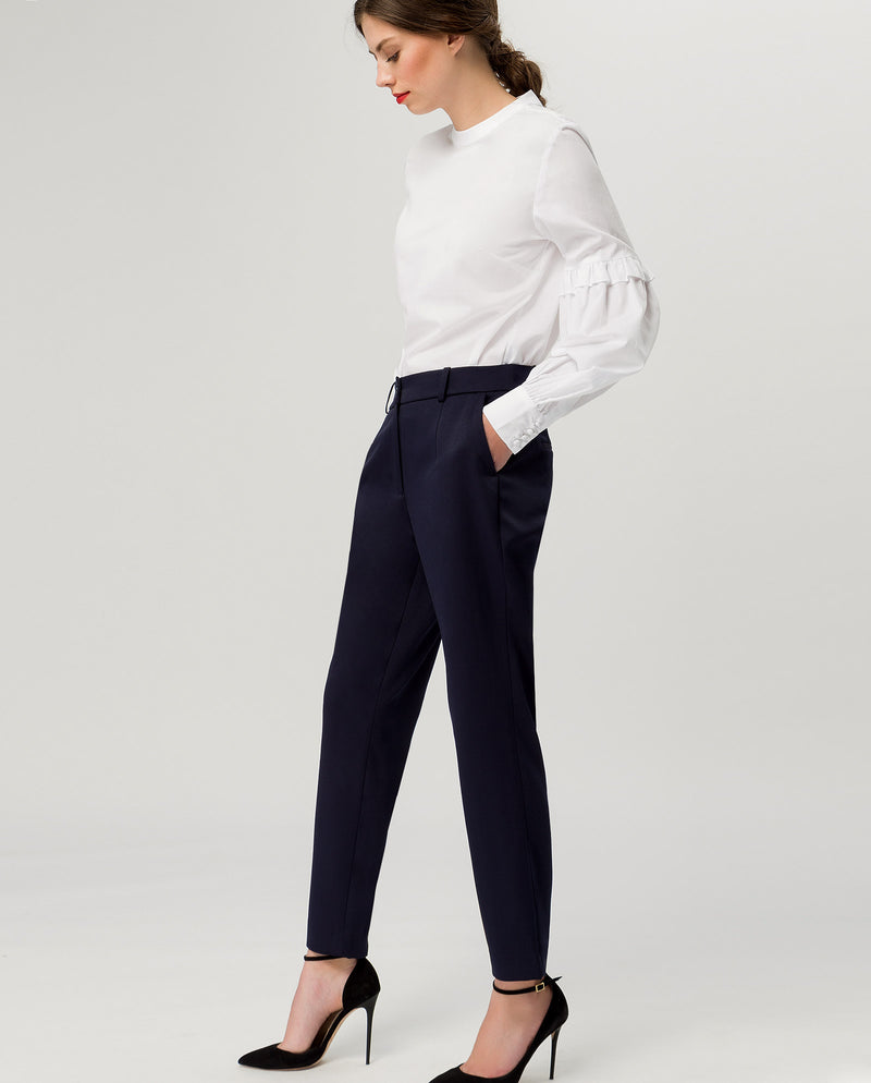Business Pants Navy Blue