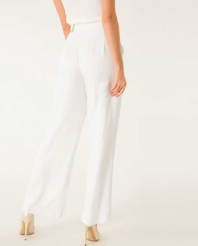 Marlene Bridal Pants Snow White