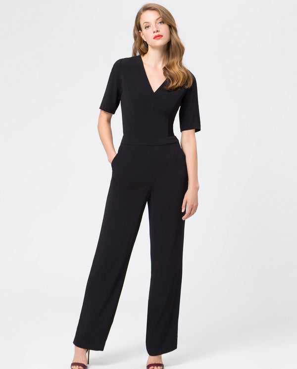 Jumpsuit V-Neck