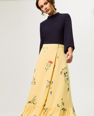 Wrap Skirt Volant