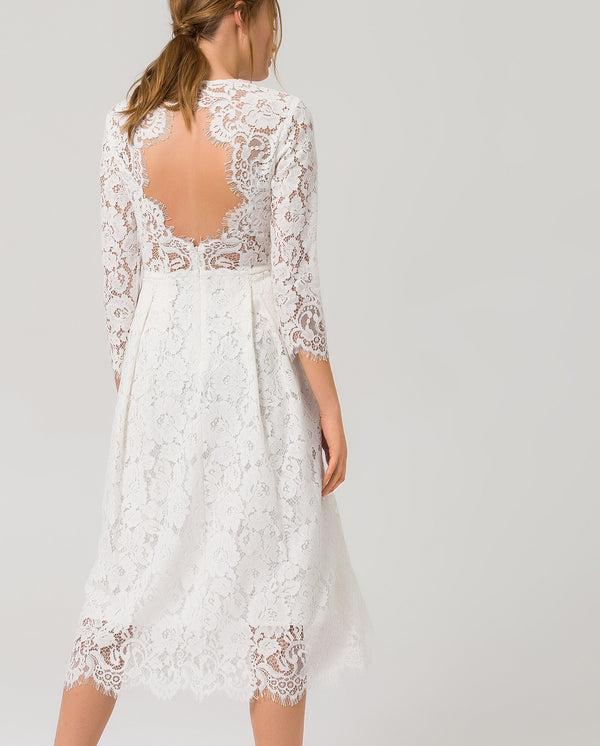 Lace Dress Fit and Flare