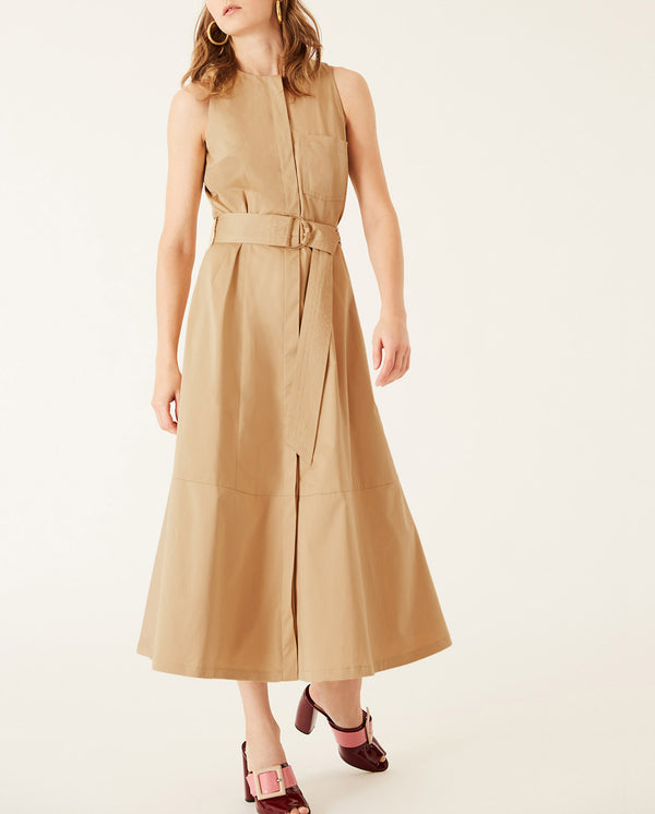 Midi Dress Apple Cinnamon