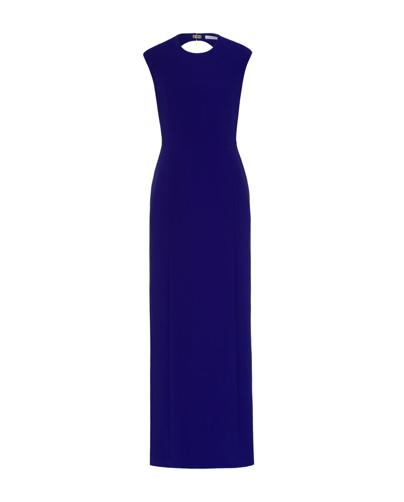 Cap Sleeve Evening Dress