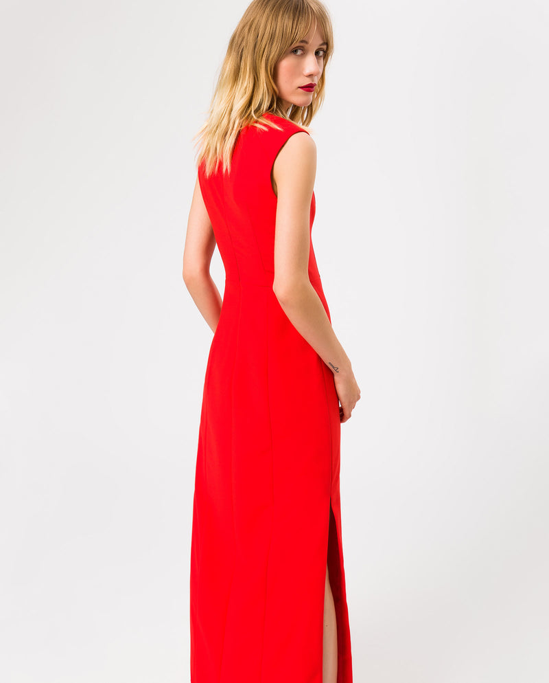 High Collar Evening Dress