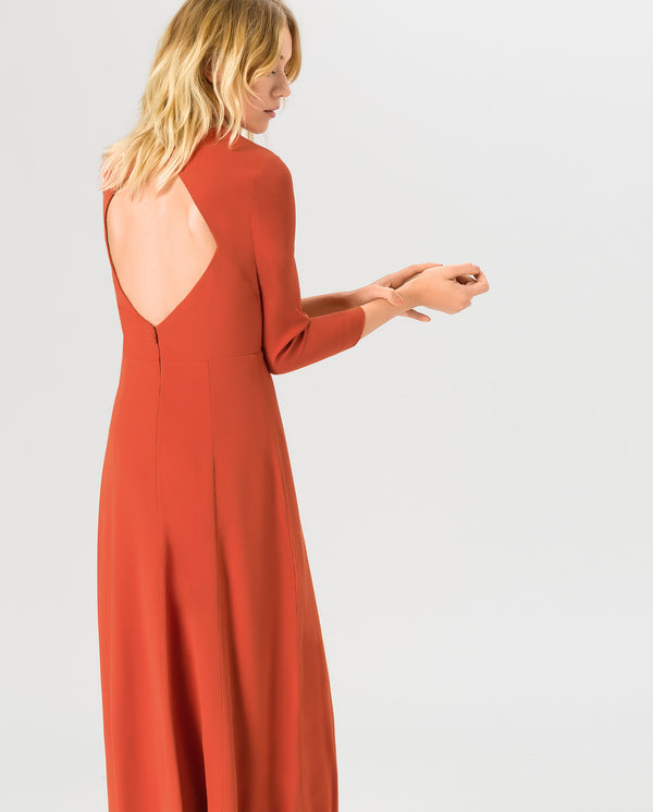 Evening Open Back Dress