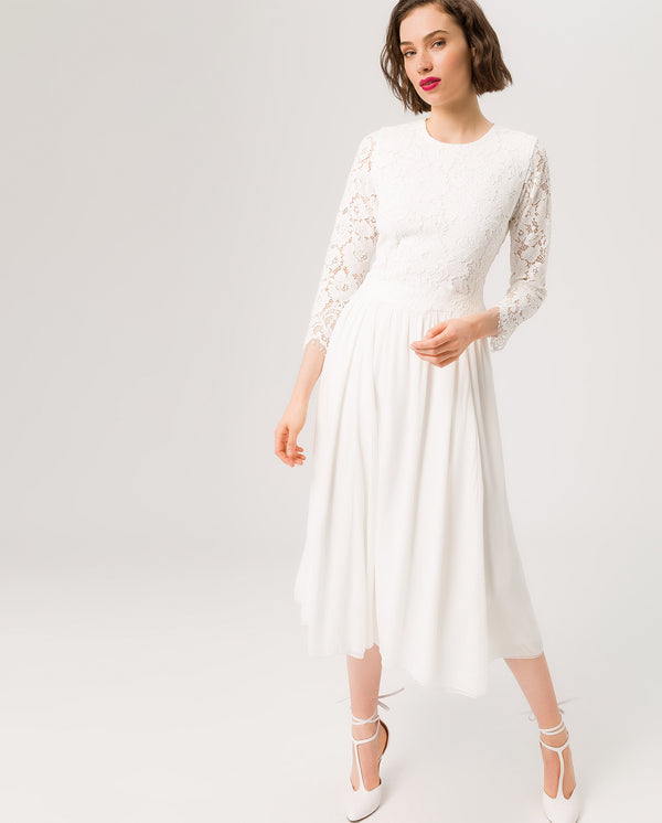 788f205d2c0a ... 2in1 Bridal Midi Dress Snow White
