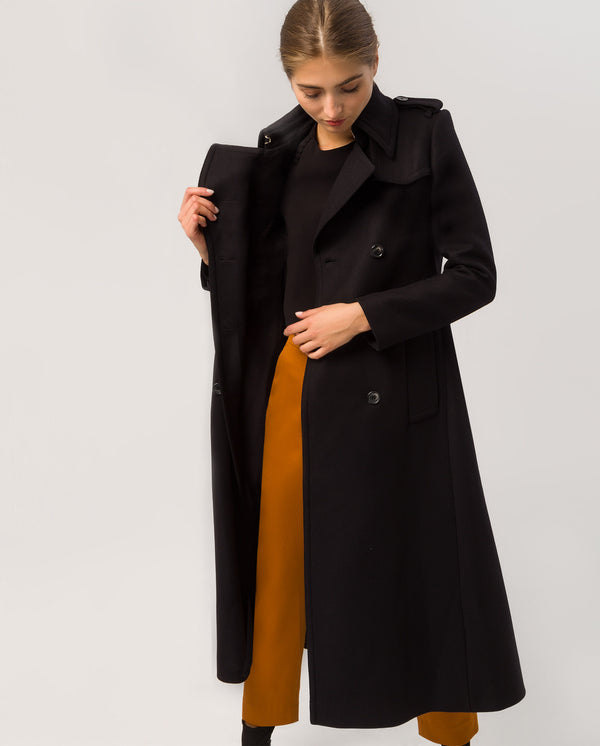 Trench Coat Classic Black
