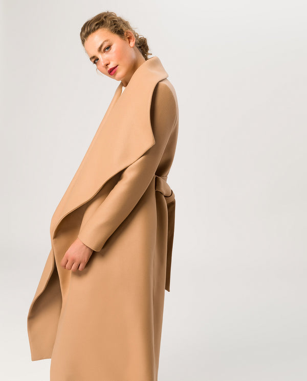 Bathrobe Coat Camel