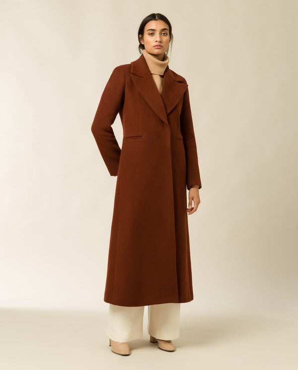 Maxi Coat brown