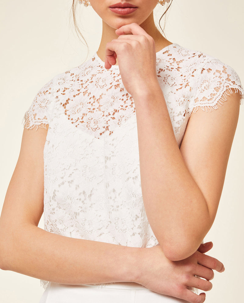 Bridal Lace Top