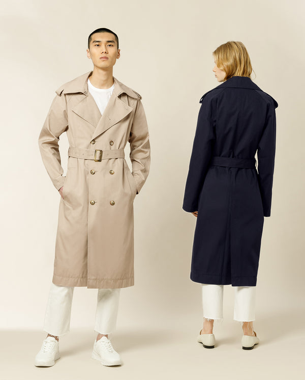 PLATANO Unisex Trench Coat
