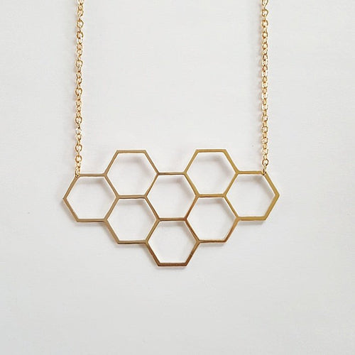 Hexagon | Halsband