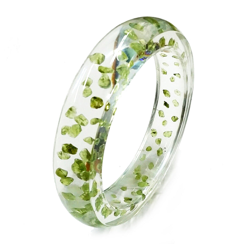 BG42523<br/>Peridot Bangle<br/>