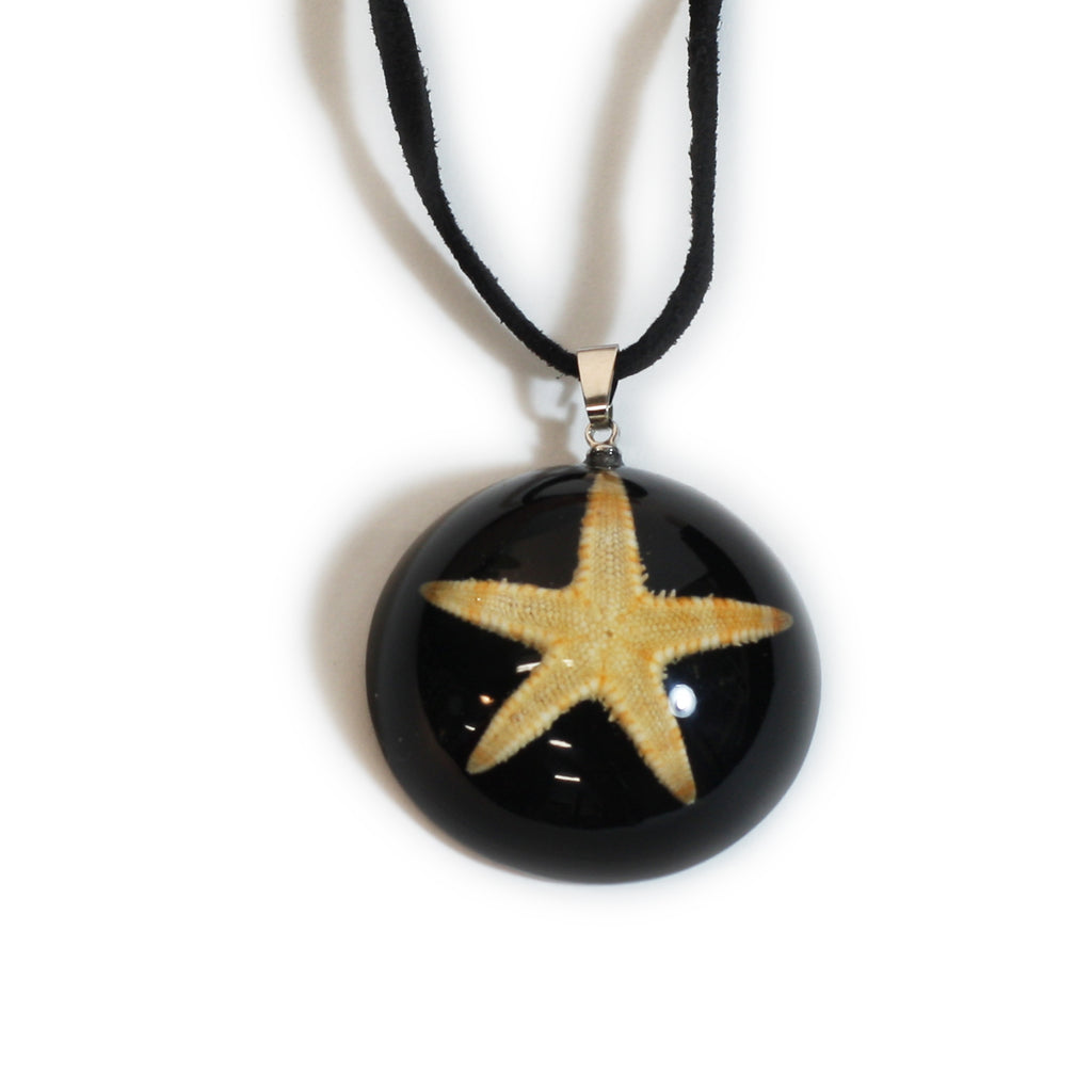 OP403<br/>Starfish Dome Necklace