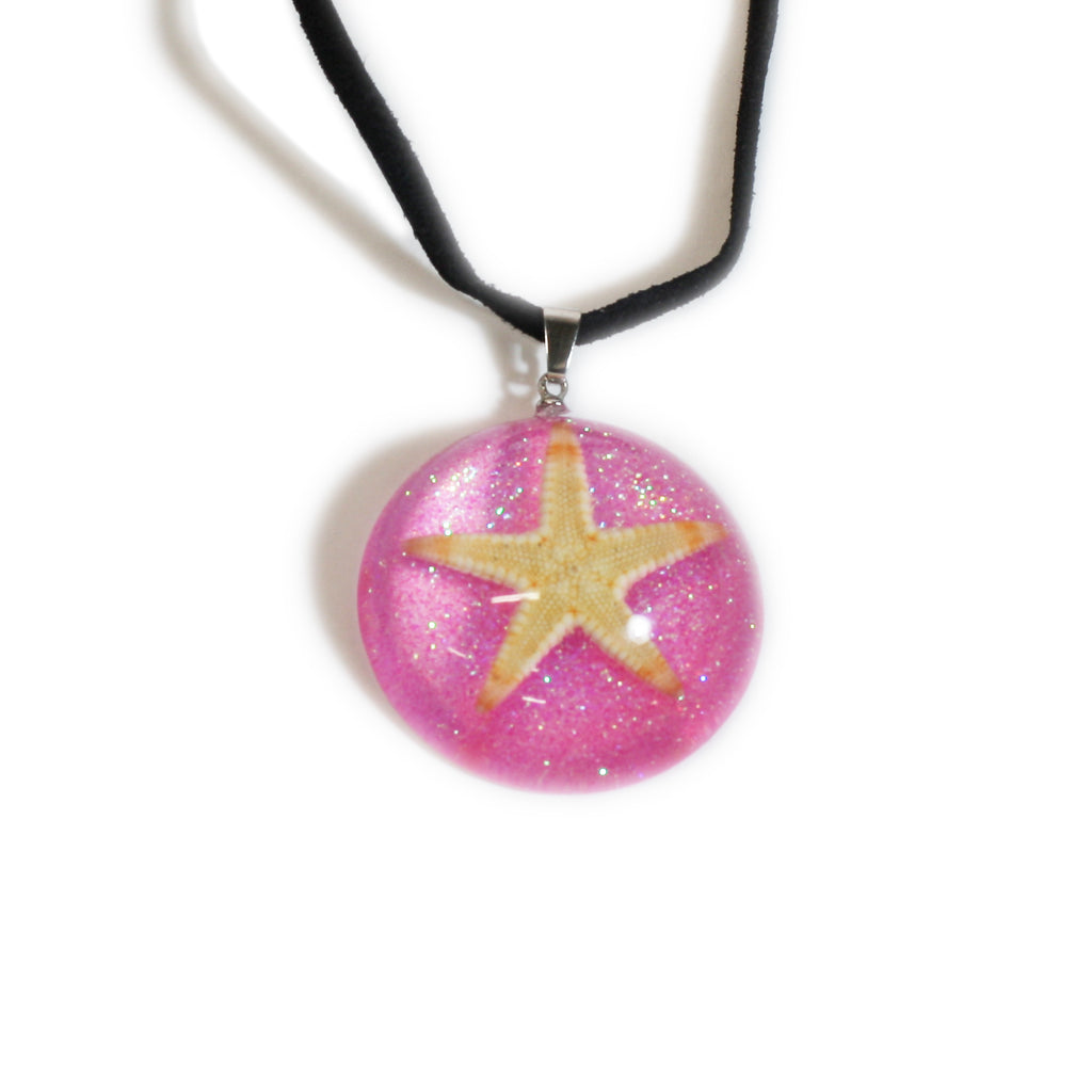 OP404<br/>Starfish Dome Necklace