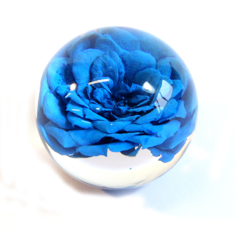 GLF6002<br/>Flower Globe Desk Decoration