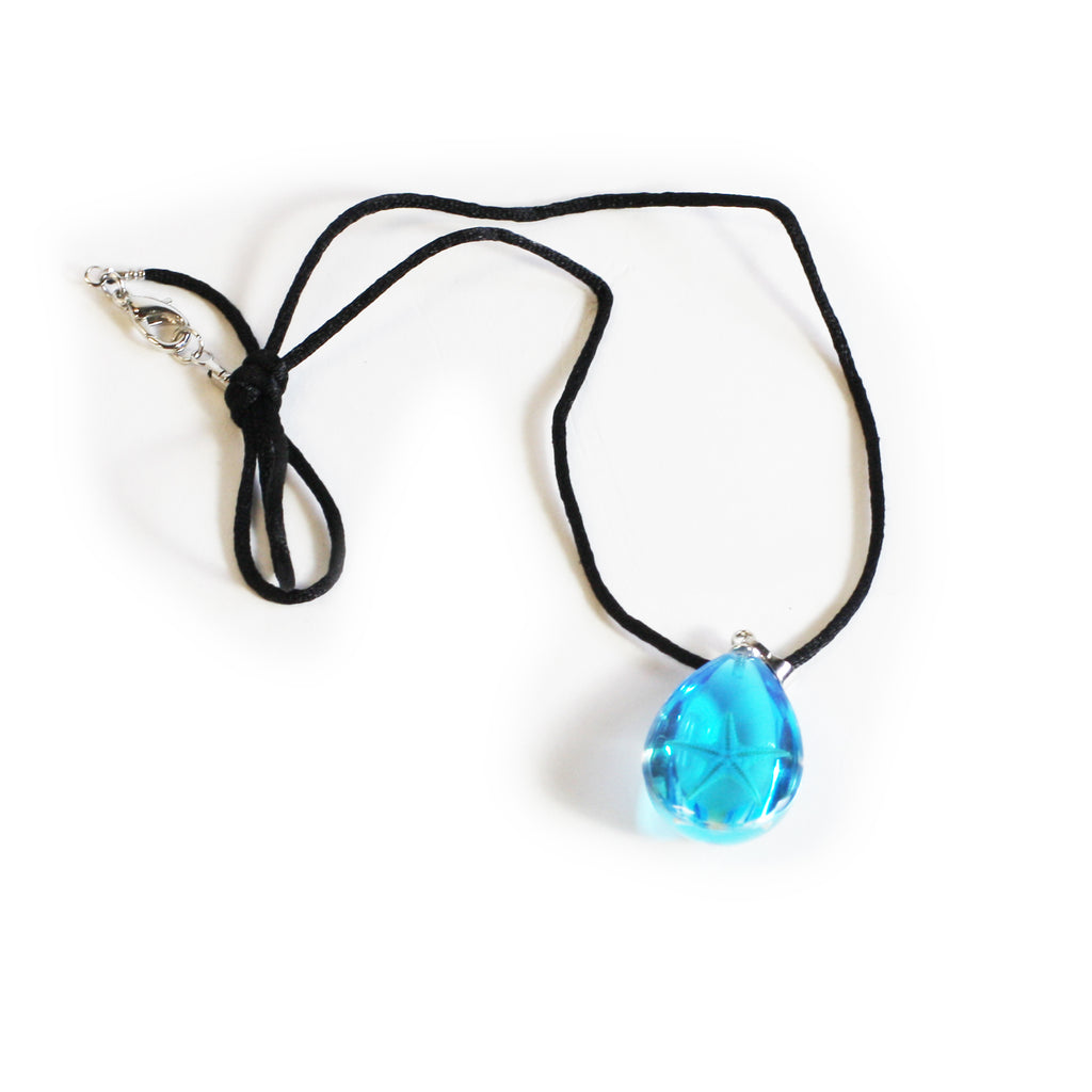 OPW101<br/>Starfish Necklace Tear Drop