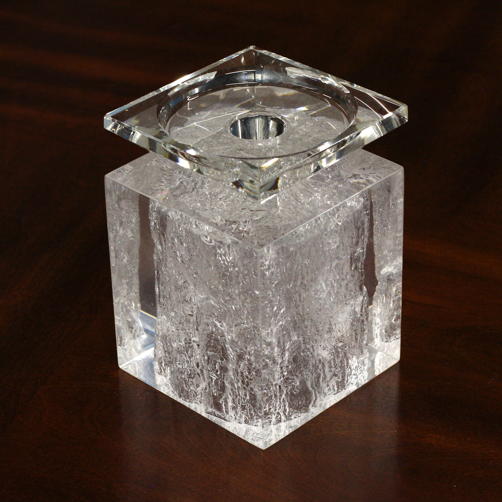 CD01<br/> Candle Holder, Ice Looking