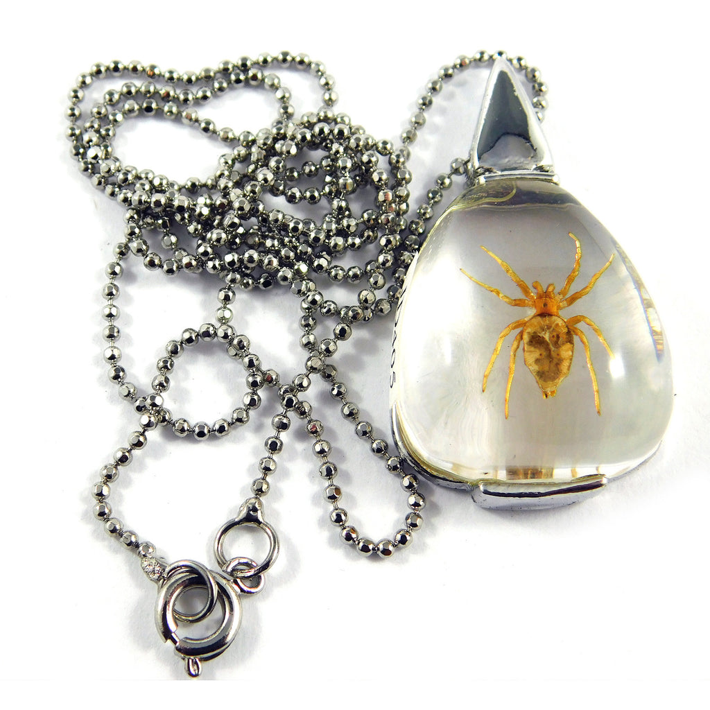 Spider Triangular Necklace (JD405)