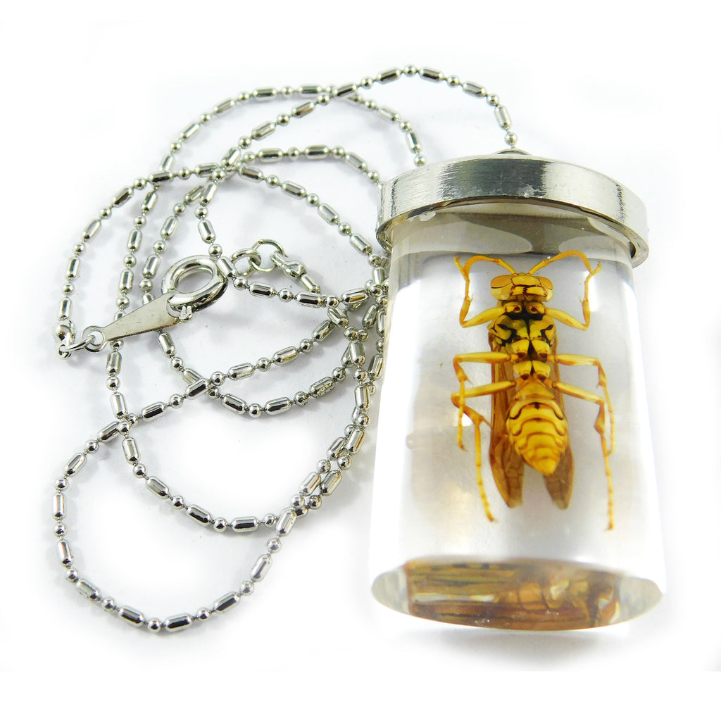 Wasp Rectangle Necklace (JD503)