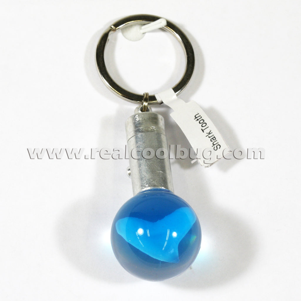 OLK122<br/>LED Key Chain - Shark Tooth