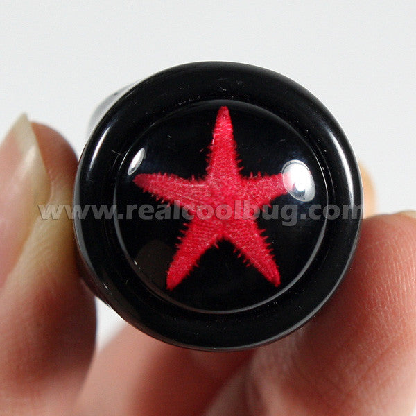 OR014<br/>Red Starfish Ring