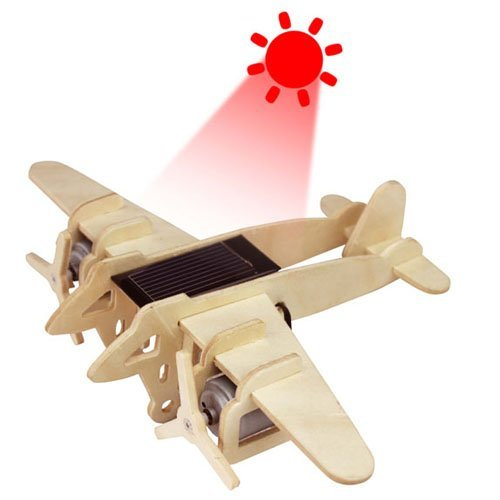 3D Wooden Jigsaw Puzzle Bomber
