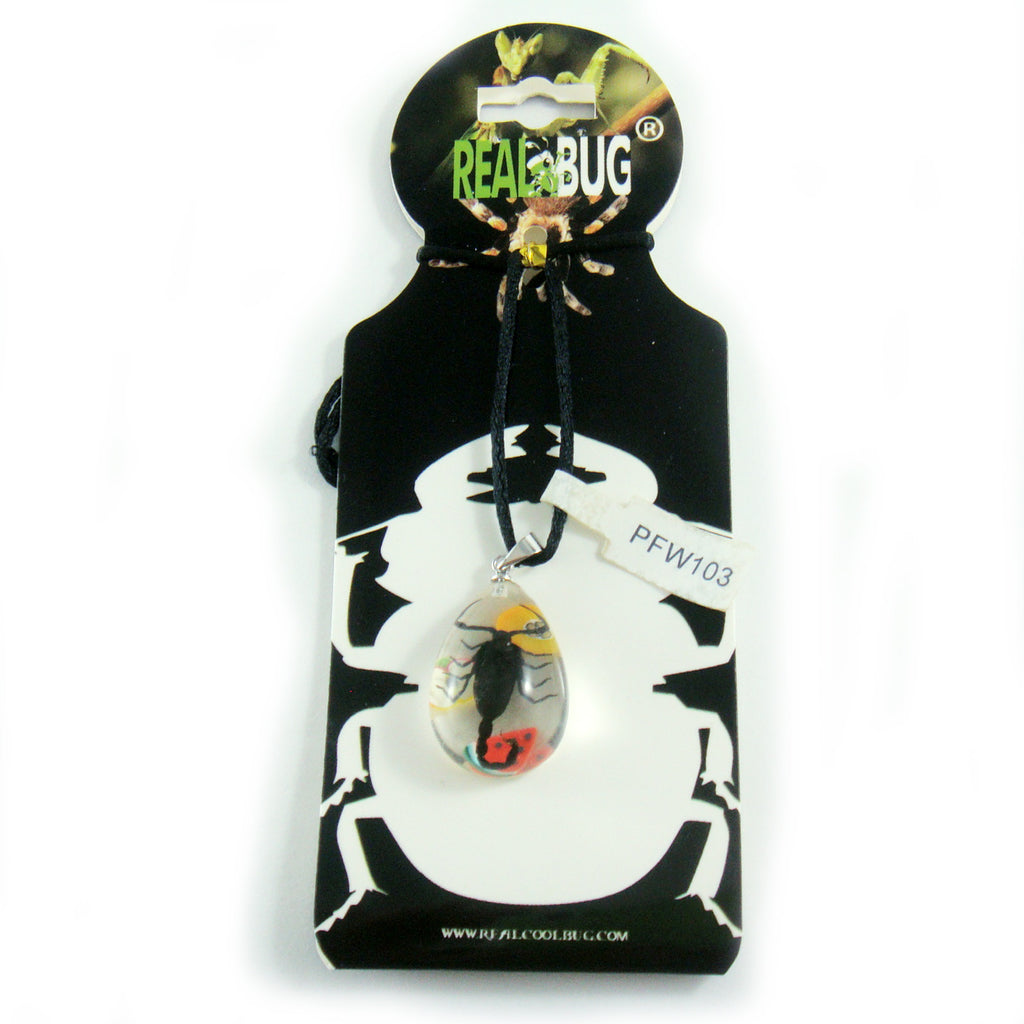 Black Scorpion & Fruit Necklace (PFW103)