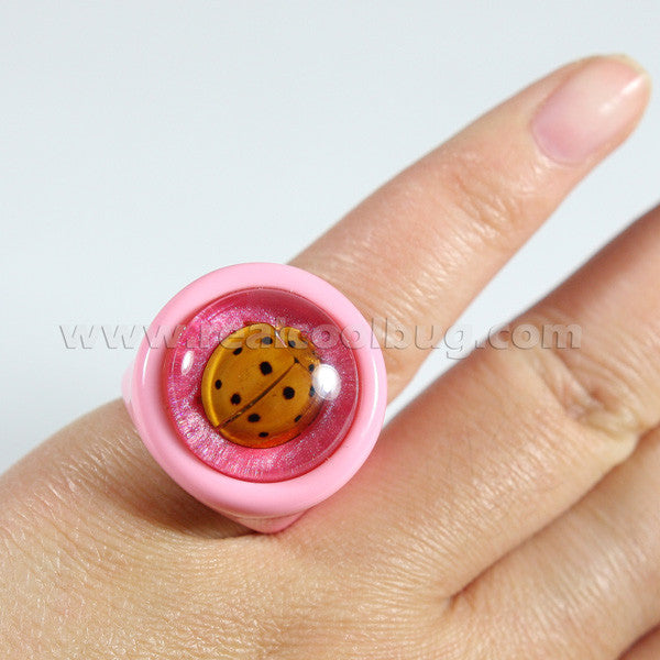 R0023<br/>Lady Bug Ring